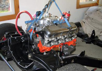 Engine, Scattershield and Clutch Installation
