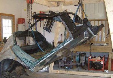 Body Lifting Frame and Underbody Painting