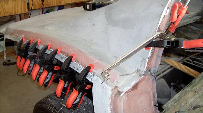 Rear Deck Installation
