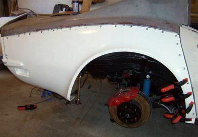 Rear Quarter Panel Installation