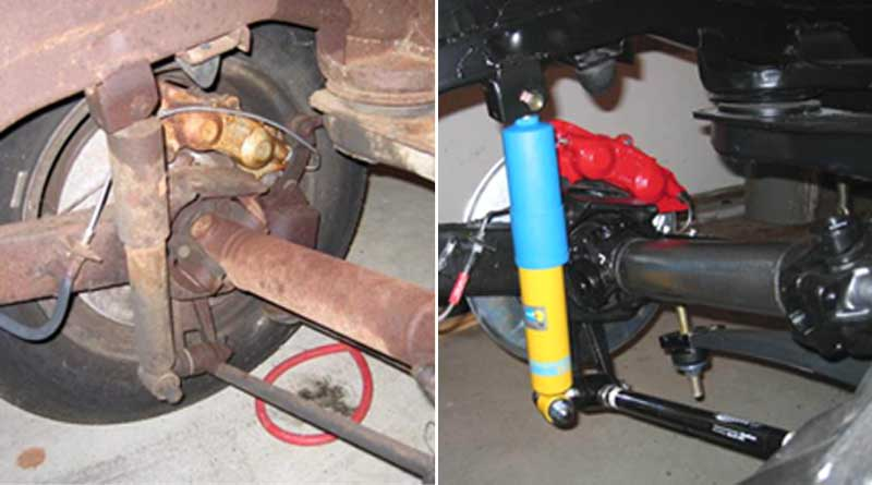 Rolling Chassis – Before and After