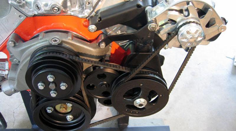 Alternator and Engine Accessory Installation