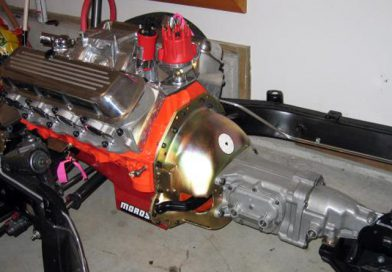 Muncie Transmission Cleanup and Installation