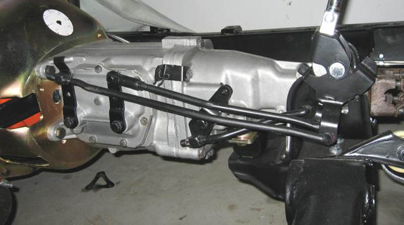 Header and Shifter Linkage Installation