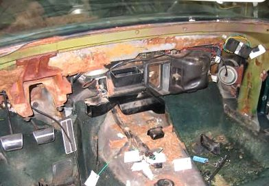 Dash Disassembly and Removal