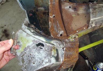 Windshield Frame Repair – Lower Corners: Part 1