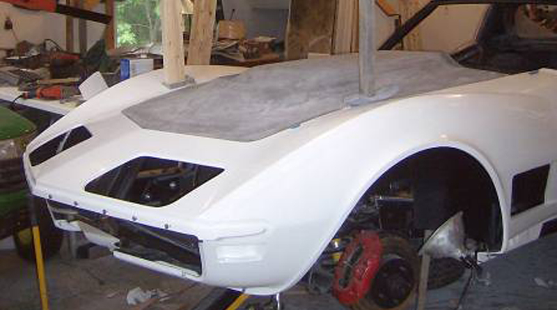 Corvette Front Clip Replacement