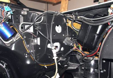 Engine Bay Wiring & Vacuum Line Installation