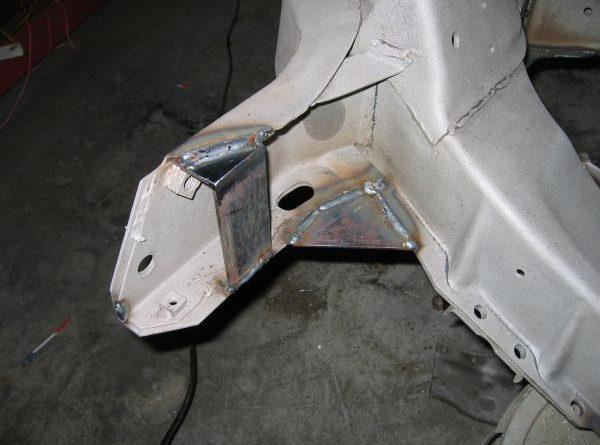 Frame Repair, Strengthening & Painting